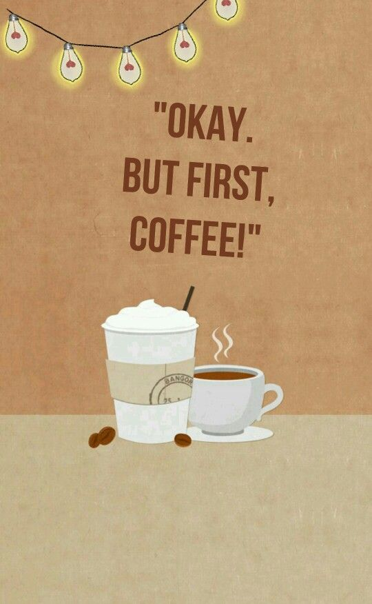 1000 ideas about cute wallpaper for phone on pinterest - Cute coffee wallpaper ...