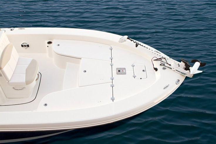 Image result for bay boat make step to bow platform