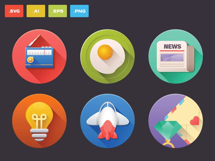 60 Icons, vector & for free! Enjoy ;-) by Sam Mountain for Difiz