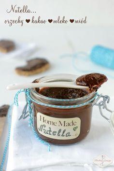 Coś co dzieci kochają najbardziej - nutella home made <3 Bez konserwantów i barwników! #intermarche #nutella #dzieci