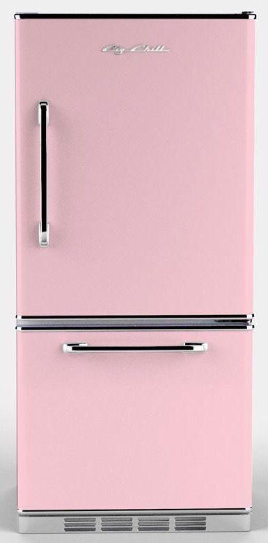 Retro pink fridge ✿⊱╮