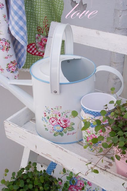 GreenGate   With pretty things like this i wouldnt mind working in the yard  :)