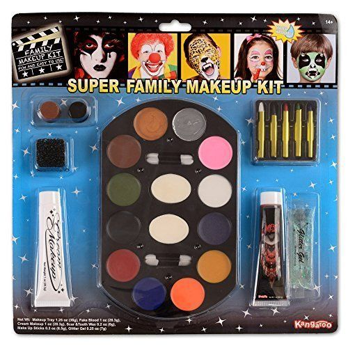Halloween Makeup Kit Face Body Paint Oil Painting Art Make Up Set Party Free SHP #SFF