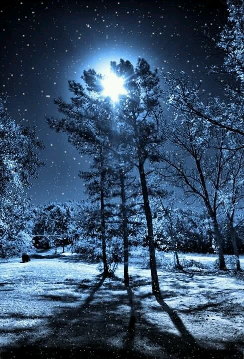 Once in a blue moon .....