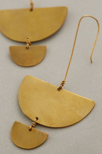 Statement earrings that go with everything (and they're fair trade from Kenya).