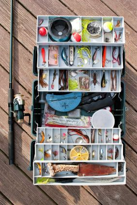 With warmer weather comes more time for fishing. Learn about the 10 pieces of fishing equipment every fishing tackle box should have.
