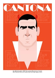 Stanley Chow, Manchester United, Image of Eric Cantona 20 years