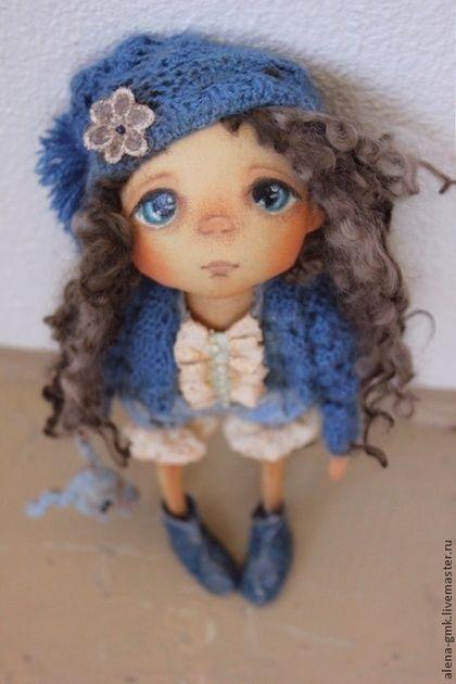 текстильная кукла ручной работы - куклы,подарок девушке,подарок на день рождения