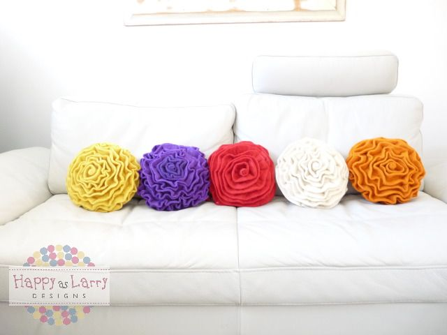 New Rose cushions 100% wool with insert