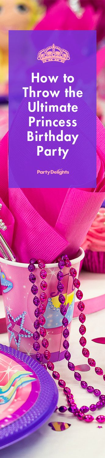 Find out how to throw the ultimate princess birthday party with our adorable princess party ideas. Everything featured in the blog is available from our great range of princess party supplies.