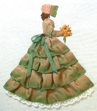 Ribbonwork Doll                                                                                                                                                      More