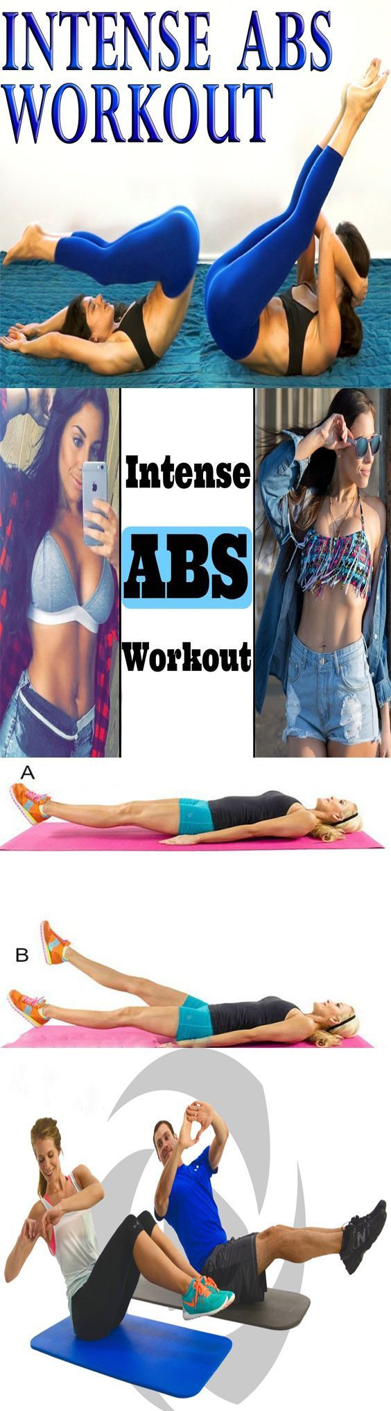 Easy abs workout for a firmer, flat stomach
