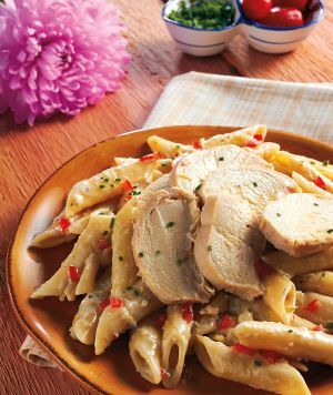 Angel Chicken - heavenly recipe submitted by Kari Routledge. YUM!  p.s. Good for picky kids too!
