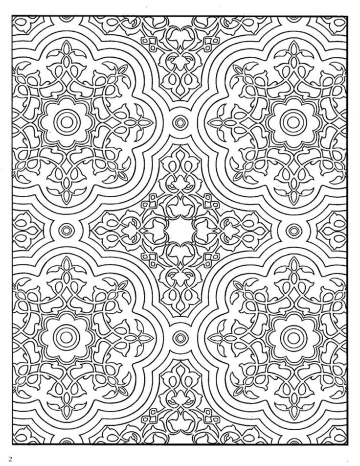 154 best Colouring for Adults for Fun and Relaxation images on ...
