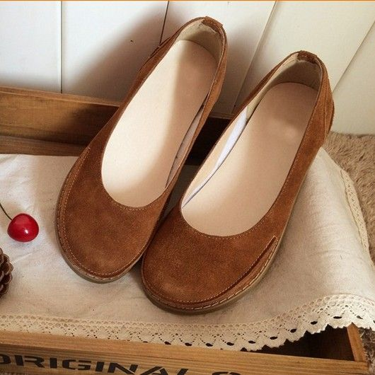Cheap ladies flats, Buy Quality handmade shoes directly from China shoes  retro Suppliers: new Mori girl cute doll head shoes retro big head shoes do  old ...