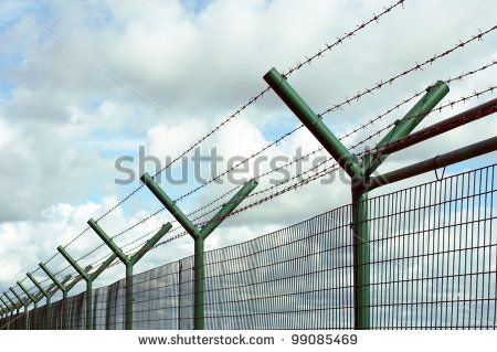 Image result for prison fence