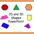 This 2D and 3D shapes PowerPoint can be used at the end of a unit as a review.  Students can review the shapes and guess which shape is being descr...