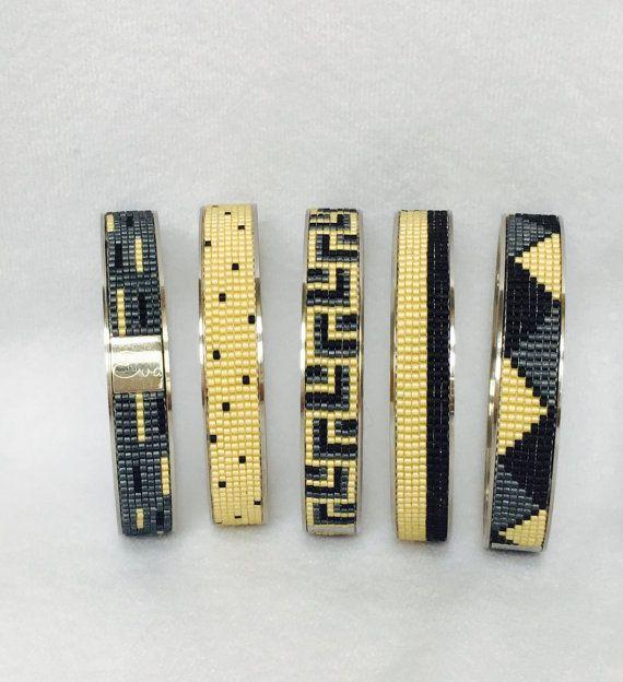 Bracelet perles métier à tisser bracelet intégré dans le lit