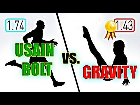 Is Usain Bolt Actually Faster Than Gravity? http://gizmodo.com/5933972/is-usian-bolt-actually-faster-than-gravity#