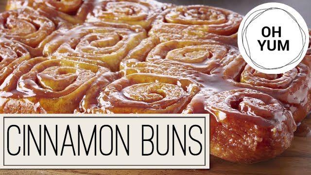Classic Cinnamon Sticky Buns | Oh Yum with Anna Olson