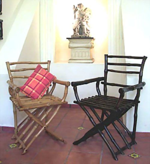 Bamboo Jefe Chairs photo by Bob Cow