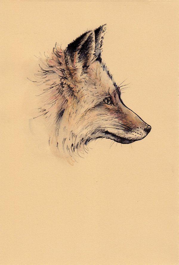 Fox Tattoo | Artist Unknown
