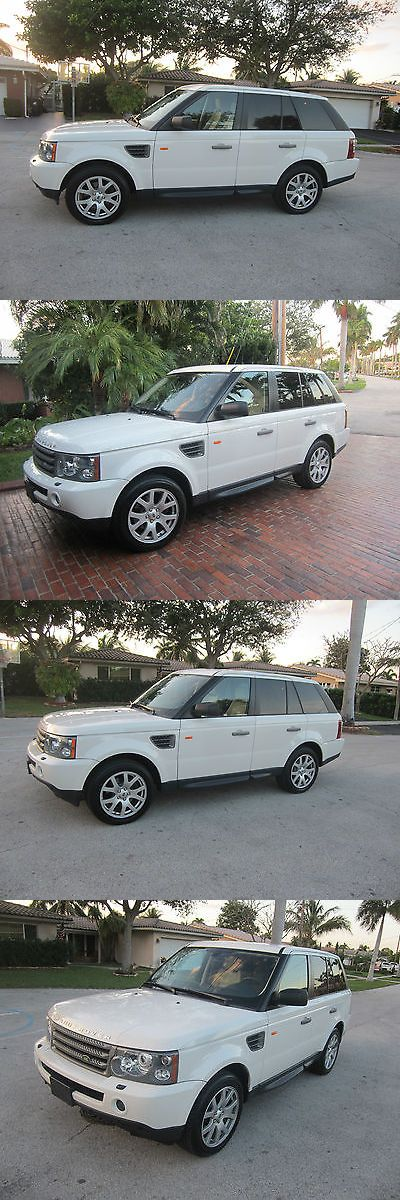 SUVs: 2008 Land Rover Range Rover Sport 2008 Range Rover Mint Florida Rust Free Suv Clean Car Fax All Wheel Drive L@@K BUY IT NOW ONLY: $18900.0