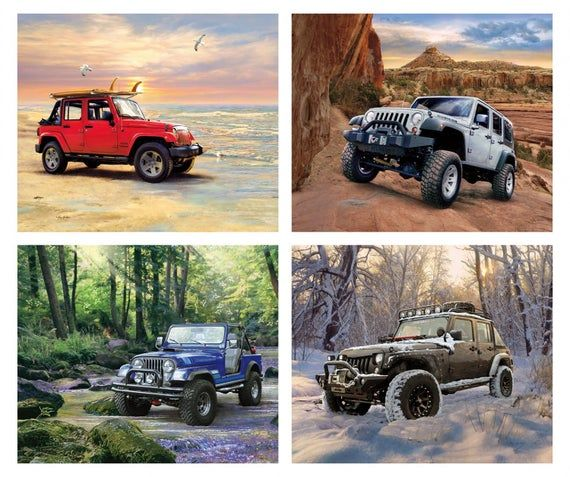 Jeep Quilt Panel Digital Riley Blake Jeep In The Wild Panel 36