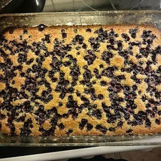 Pulverhexen's DIY: Coconut Cake with currants & raspberries