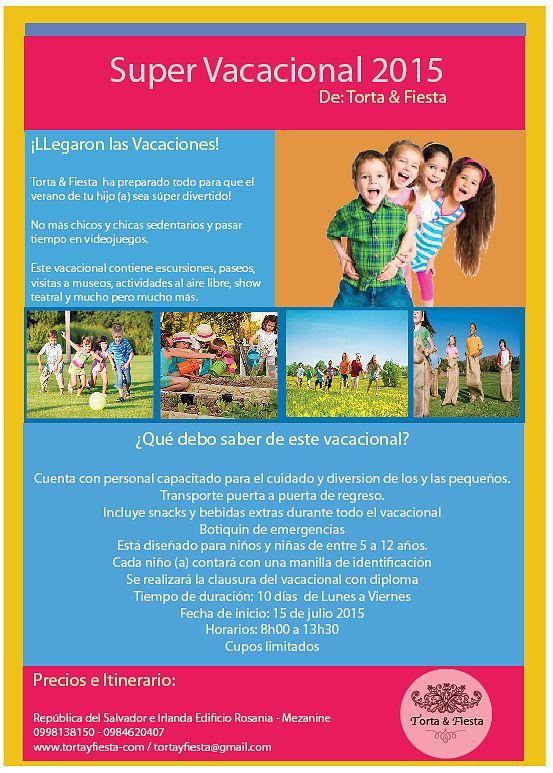 Vacacional 2015 Quito - Ecuador
