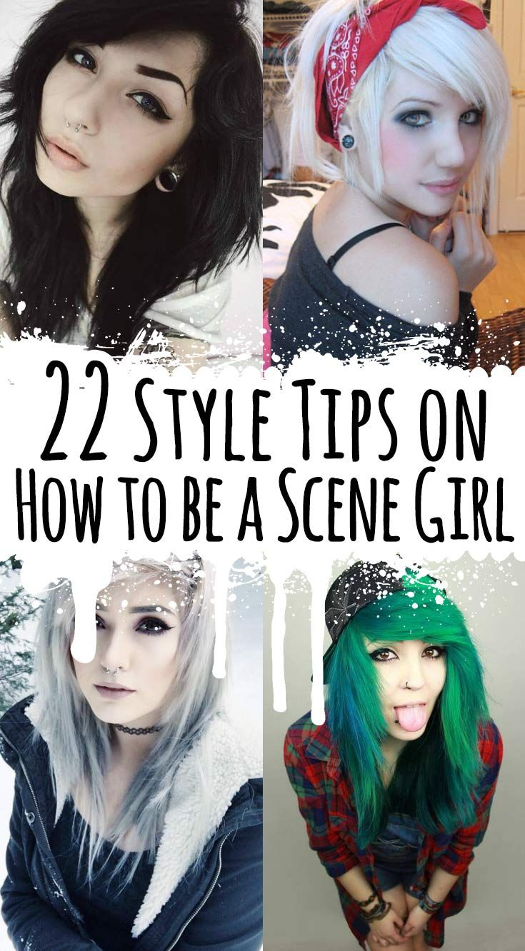 22 Style Tips on How to be a Scene Girl - http://ninjacosmico.com/22-style-tips-scene-girl/