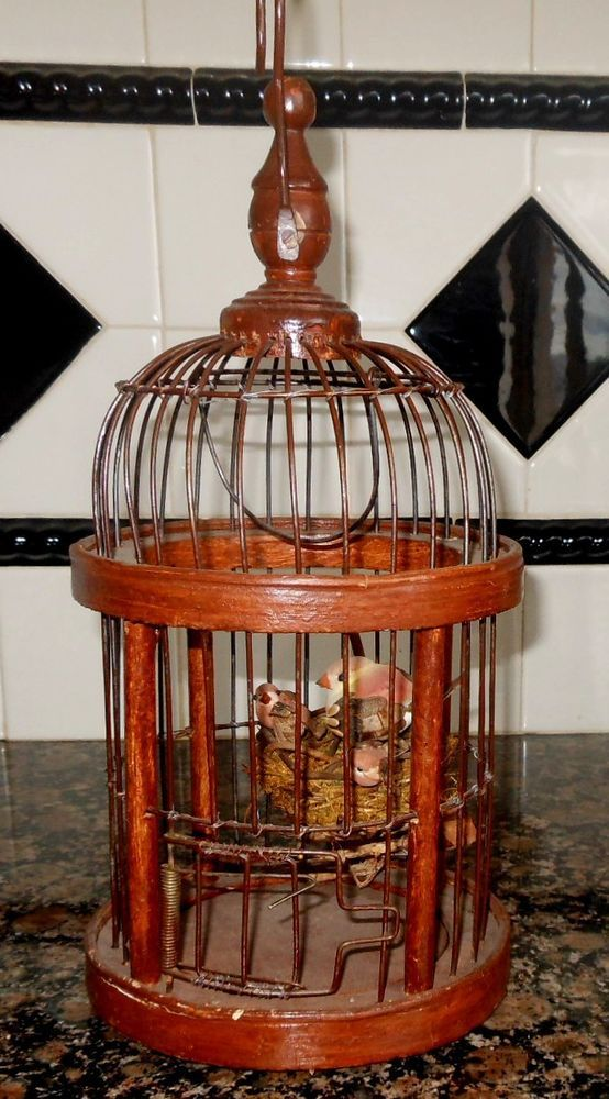 17 Best Images About Birds Cages Houses Nests On