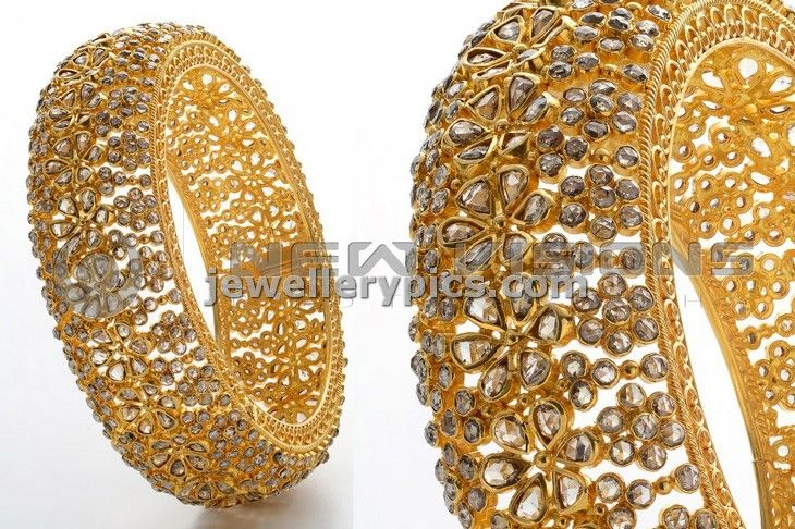 Vaibhav jewellers Diamond bangle designs - Latest Jewellery Designs