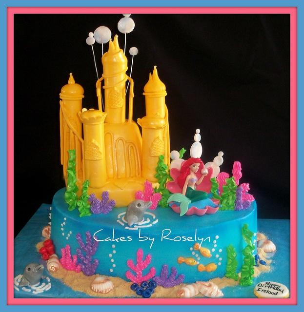 51 Best Mermaid Cakes Images On Pinterest