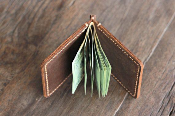 Wallet Leather Wallet Leather Money Clip Wallet от JooJoobs