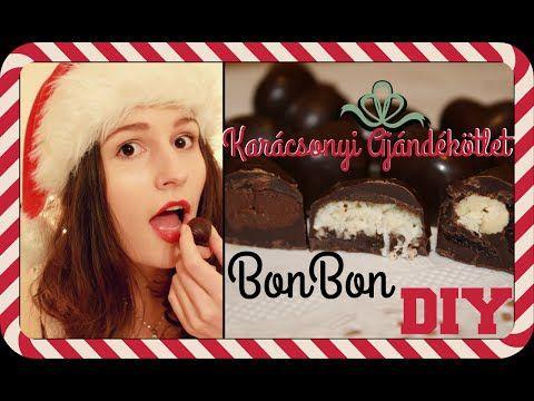 Karácsonyi Ajándékötlet DIY - Házi Bonbon - YouTube