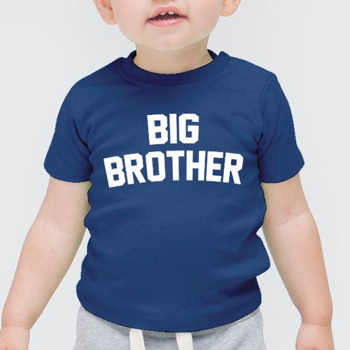Big Brother | Mama, Slogan, Quote First Baby Short Sleeved Onesie Vest Toddler, T-Shirt, Tee, Hipster, Illustration, Cute Funny Slogan Gift Tumblr Blog, Boy, Girl, Summer, Mum, Dad #christmas #santa #kid #clothing #toddler #tee #top #tshirt #personalised #personalized