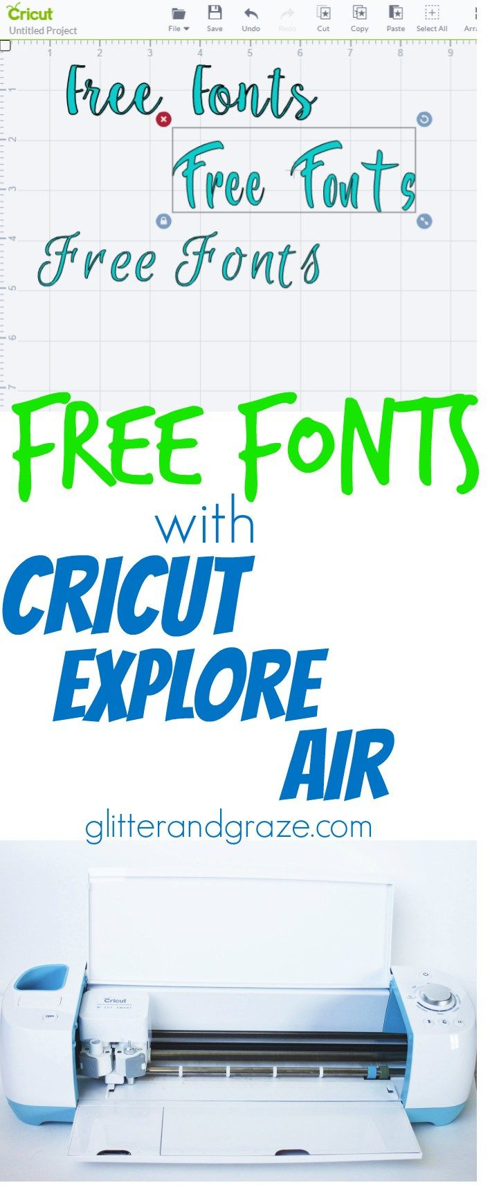 Why pay for fonts through Cricut when you can get them for