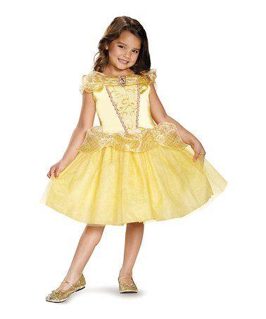 Disney Princess Belle Cameo Dress-Up Dress - Toddler & Kids #zulily #zulilyfinds