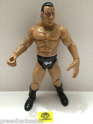 (TAS006454) - WWE WWF WCW nWo Wrestling Jakks Pacific Action Figure - The Rock