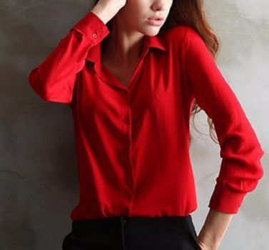 Tops Chiffon Elegant Ladies Formal Office Blouse – Ecolo.luca