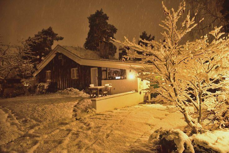 Første snø i november