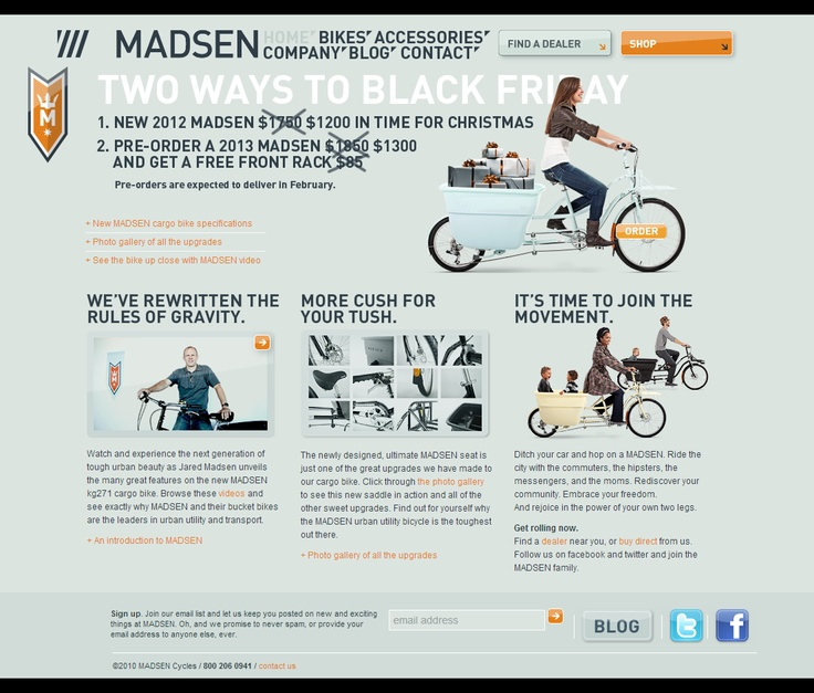 Bicycles for Utility, Cargo and Transportation - Madsen Cycles