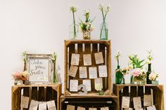 Kreative Ideen für euren Sitzplan 2016   Hochzeitsblog - The Little Wedding Corner