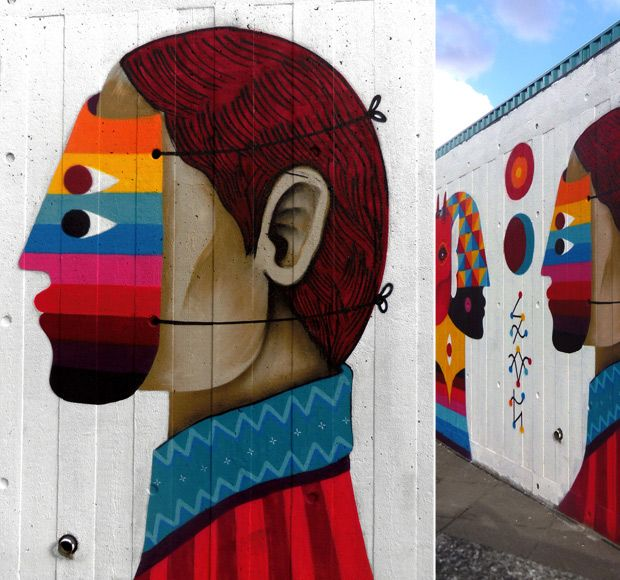 faces | graffiti art #graffiti #color #art