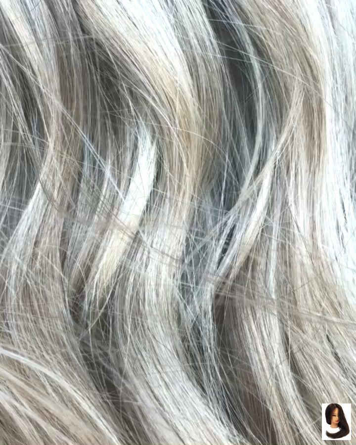 Balayage Grey Hair Video Hair Highlights Balayage Hair