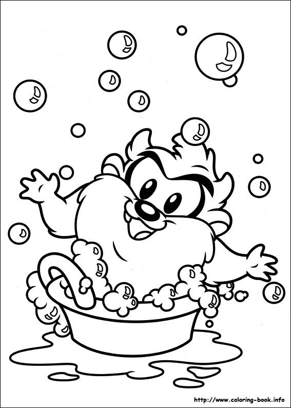 Baby Looney Tunes Coloring Pages For Kids 6