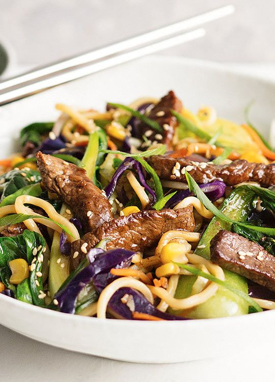 How to make Ginger Beef & Ramen Noodle Stir-Fry