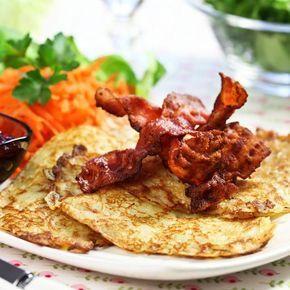 Raggmunk med bacon