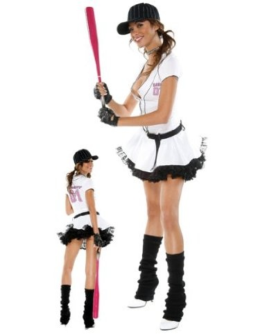 like dressing up in a sexy baseball girls halloween costume start shopping for sexy baseball girl halloween costumes - Baseball Halloween Costume For Girls